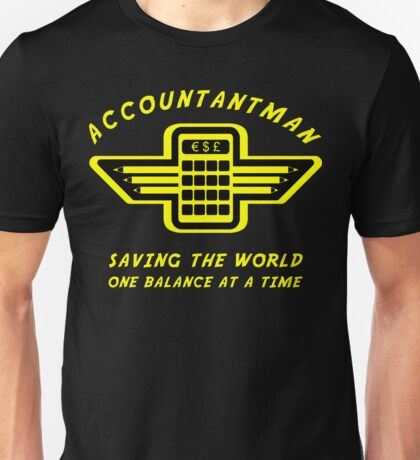 Accountantman Unisex T-Shirt