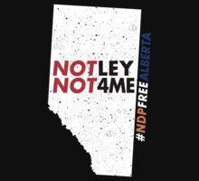 NDP Free Alberta Kids Tee