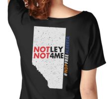 NDP Free Alberta Women's Relaxed Fit T-Shirt