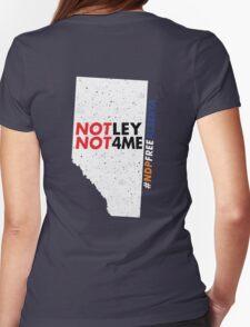 NDP Free Alberta Womens Fitted T-Shirt