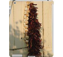 Dried Garlic and Chillies iPad Case/Skin