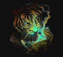 Smoke Tiger man Unisex T-Shirt