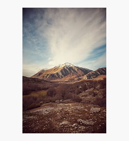 Mountains in the background XVII Photographic Print