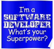 I'm A Software Developer Poster