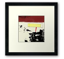 Sunlight Reflected in the Mirror Vanishes in the Paw of a Black Cat Framed Print