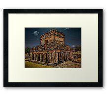 Tulum Temple Framed Print