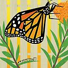 Monarch Conservation Poster by David Orr
