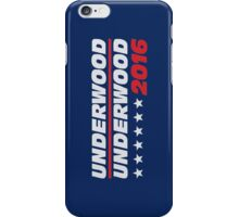 frank underwood logo iPhone Case/Skin