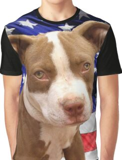 American pitbull Terrier puppy Graphic T-Shirt