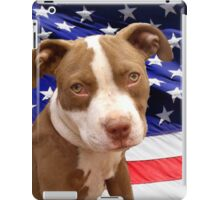 American pitbull Terrier puppy iPad Case/Skin
