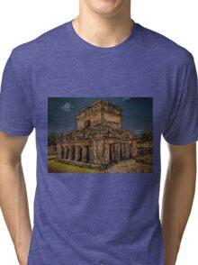 Tulum Temple Tri-blend T-Shirt