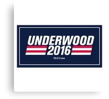 Frank Underwood Logo HD Canvas Print