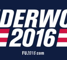 Frank Underwood Logo HD Sticker