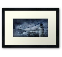 Cornish Lighthouse Framed Print