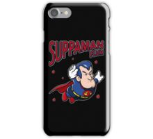 Suppaman plum iPhone Case/Skin