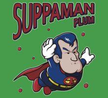 Suppaman plum One Piece - Short Sleeve