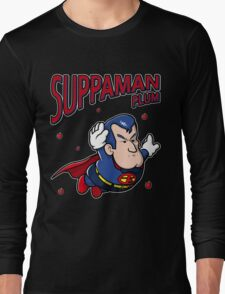 Suppaman plum Long Sleeve T-Shirt