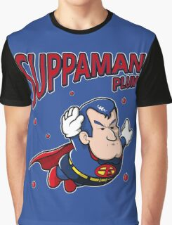 Suppaman plum Graphic T-Shirt