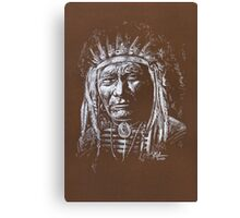 Algonquin Chief Canvas Print