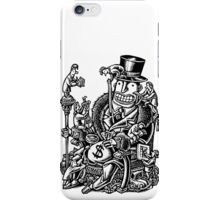 Measuring Success of Wealthy Man iPhone Case/Skin