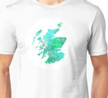 Scotland Map Unisex T-Shirt