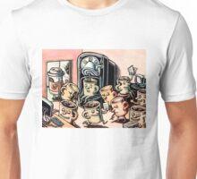Coffee Mug People in Office Unisex T-Shirt