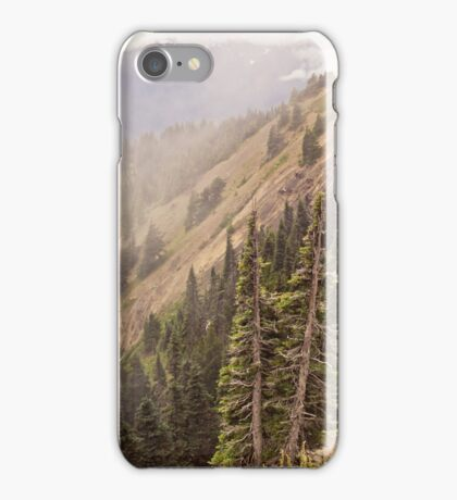 Olympic Range from Hurricane Ridge iPhone Case/Skin