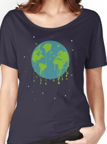 global warming tshirt Women's Relaxed Fit T-Shirt