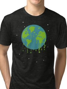 global warming tshirt Tri-blend T-Shirt