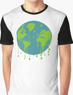 global warming tshirt Graphic T-Shirt