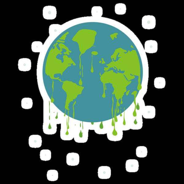 global warming tshirt by Anastasiia Kucherenko