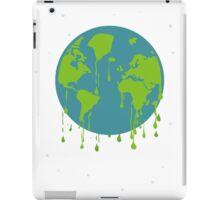 global warming tshirt iPad Case/Skin