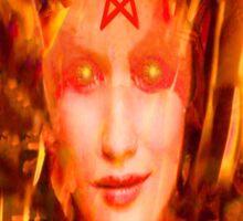 Fire Demon Sticker