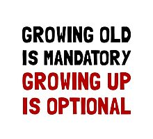 Growing Up Optional Photographic Print