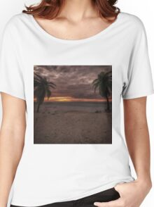 Fantasy Sunset Women's Relaxed Fit T-Shirt