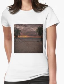 Fantasy Sunset Womens Fitted T-Shirt