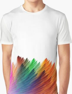 color brush Graphic T-Shirt