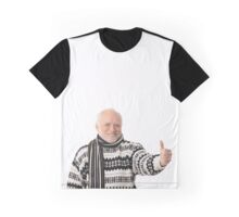 Thumbs-Up Harold Graphic T-Shirt
