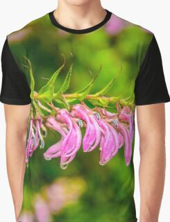 Flowers in the rain Graphic T-Shirt