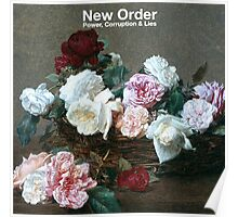 new order tee Poster