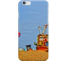 Hastings working beach iPhone Case/Skin