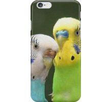 Budgie Buddies iPhone Case/Skin