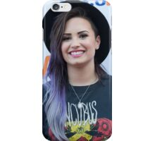Demi Lovato -- Purple Hair iPhone Case/Skin