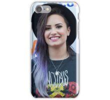 Demi Lovato -- Purple Hair iPhone Case/Skin