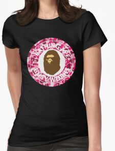 Bape Bathing Ape T-shirt Womens Fitted T-Shirt