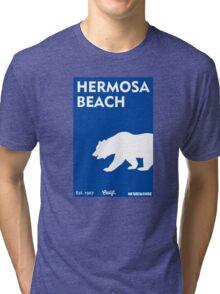 Hermosa Beach - California. Tri-blend T-Shirt
