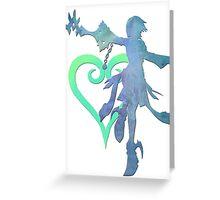 Master Aqua Greeting Card