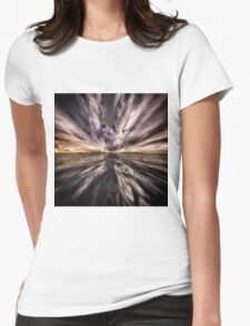 Fantasy Sunset 5 Womens Fitted T-Shirt
