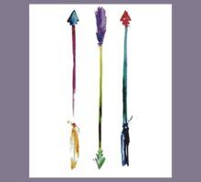 Watercolor Arrows Kids Tee