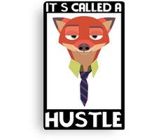 Fox Minialist Canvas Print